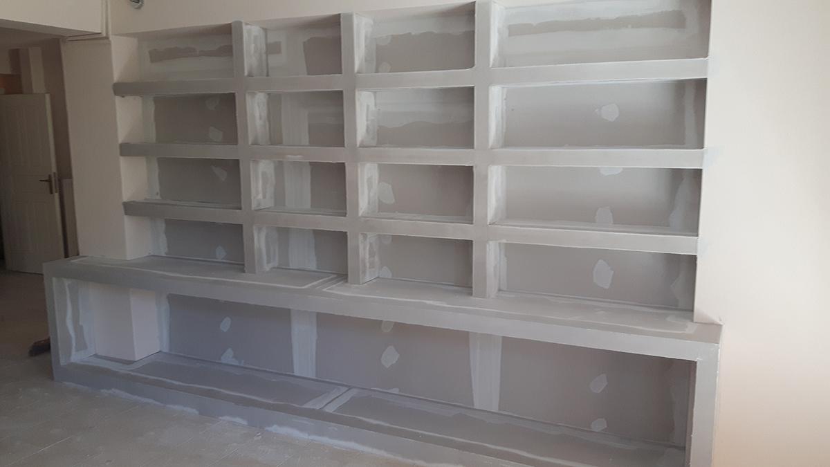 Ράφια-Βιβλιοθήκες-Σύνθετα-Ειδικές Κατασκευές
